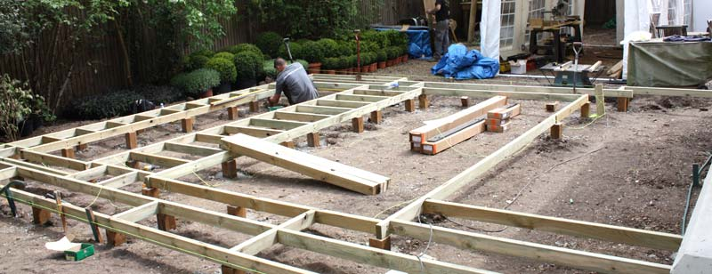 Building a decking