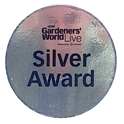 Gardeners World Live Silver Award Winner